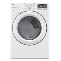 DLE3180W LG Ultra Large Electric Dryer with NFC Tag - White