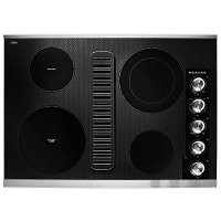 KCED600GSS KitchenAid 30 Inch Electric Downdraft Cooktop with 4 Elements - Stainless Steel