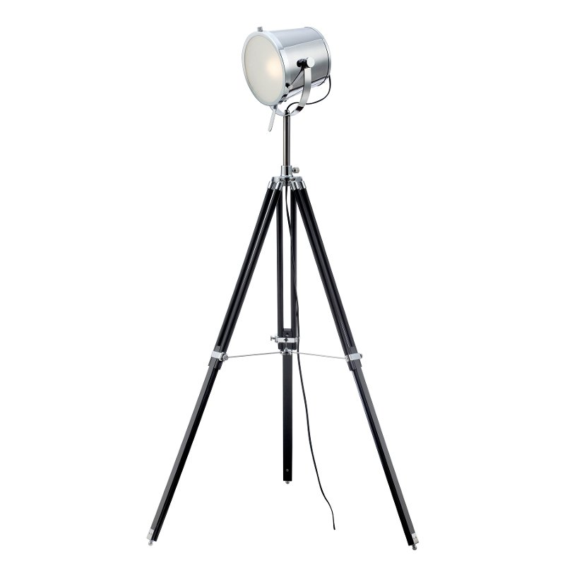1-Light Tripod Floor Lamp - Trey