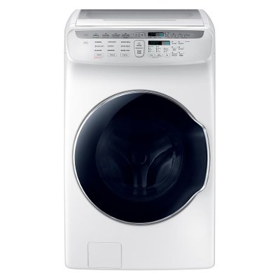 WV55M9600AW Samsung FlexWash Front Load Washer - 5.5 cu. ft. White
