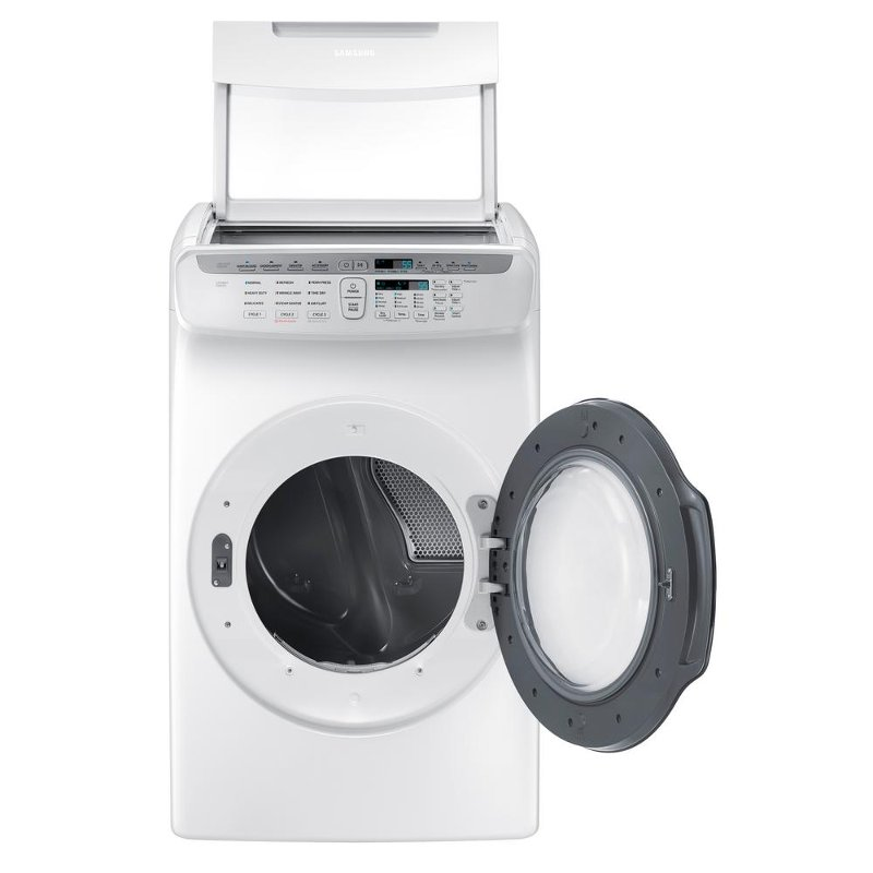 Samsung FlexDry Electric Dryer - 7.5 cu. ft. White