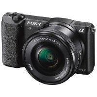 ILCE5100L/B Sony α5100 ILCE5100L E-mount Digital Camera with 16-50mm Lens
