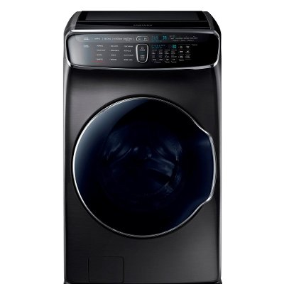 WV60M9900AV Samsung  FlexWash Top Load Washer - 6.0 cu. ft. Black Stainless Steel