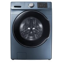 WF45M5500AZ Samsung 4.5 cu. ft. High-Efficiency Front Load Washer with Steam - Azure