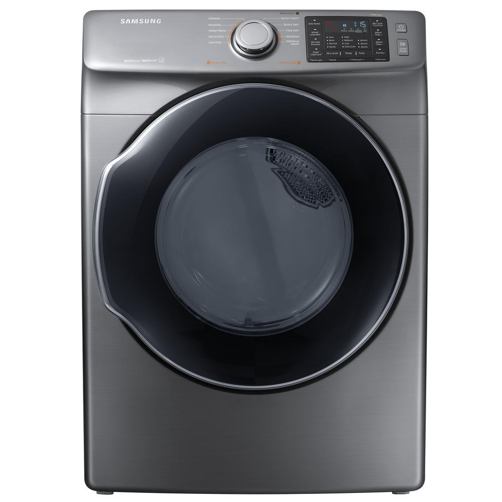 Samsung Front Load Washer And Electric Laundry Platinum