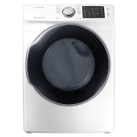 DVG45M5500W Samsung Multi-Steam Gas Dryer Energy Star - 7.4 cu. ft. White