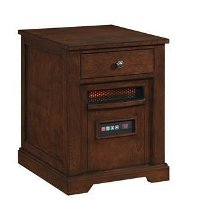 Infrared Room Heater and End Table