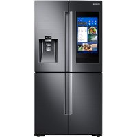 RF28M9580SG Samsung 4-Door Flex Refrigerator with Family Hub 2.0 - 36 Inch  Black Stainless Steel