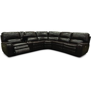 ... Brown 6-Piece Power Reclining Sectional - Casey ...  sc 1 st  RC Willey & Reclining sectional u0026 leather reclining sectional | RC Willey ... islam-shia.org