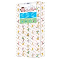 Foam Crib & Toddler Bed Quilted Standard Mattress (5 Inch)