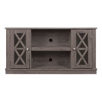 Contemporary Spanish Gray TV Stand (48 Inch) - Bayport