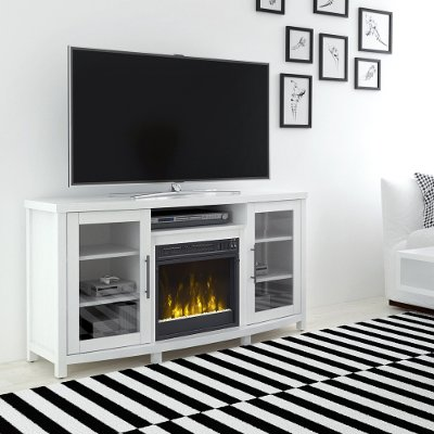 white tv stand with fireplace. 54 inch white tv stand with fireplace tv c