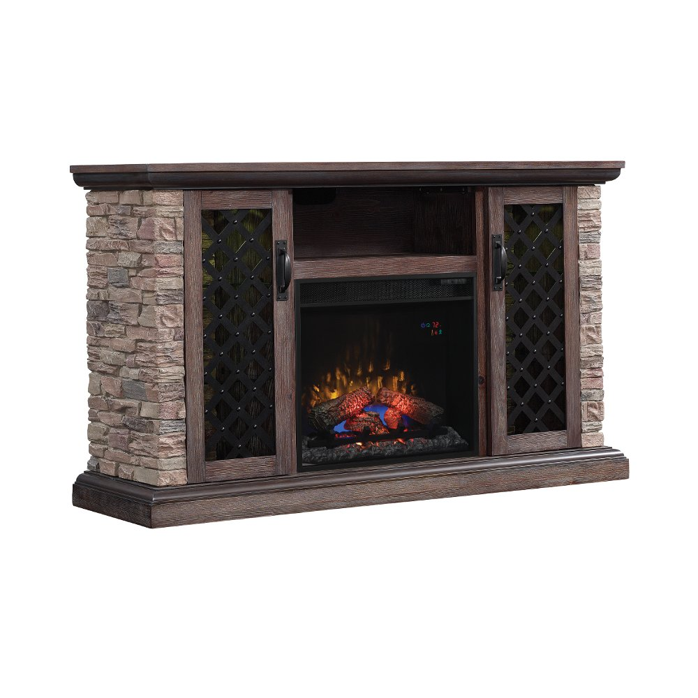 Faux Stone TV Stand With Fireplace (60 Inch)   Captain | RC Willey  Furniture Store