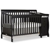 Black 5-in-1 Convertible Crib - Brody