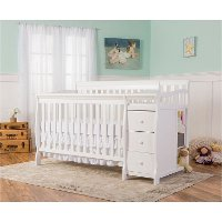 White 5-in-1 Convertible Crib - Brody