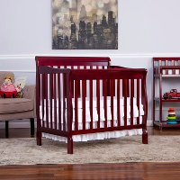 Cherry Convertible 4-in-1 Mini Crib - Aden