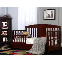 Espresso Delux Toddler Day Bed