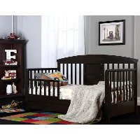 Black Delux Toddler Day Bed
