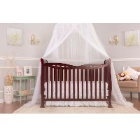 Cherry 7-in-1 Convertible Life Style Crib - Violet