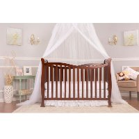 Espresso 7-in-1 Convertible Life Style Crib - Violet