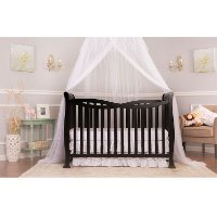 Black 7-in-1 Convertible Life Style Crib - Violet