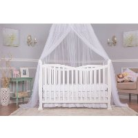 White 7-in-1 Convertible Life Style Crib - Violet