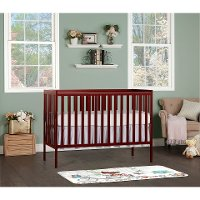 Cherry 5-in-1 Convertible Crib - Synergy