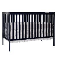 Black 5-in-1 Convertible Crib - Synergy