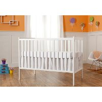 White 5-in-1 Convertible Crib - Synergy