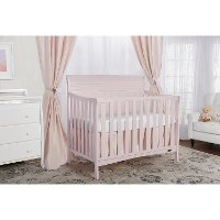 Blush Pink 5-in-1 Convertible Crib - Bailey