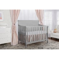Dove Grey 5-in-1 Convertible Crib - Bailey