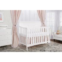 White 5-in-1 Convertible Crib - Bailey