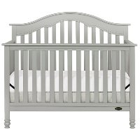 Storm Grey Pearl 5-in-1 Convertible Crib - Charlotte