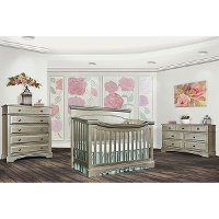 807-PTR Bronze 5-in-1 Convertible Crib - Catalina
