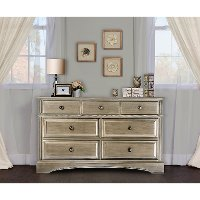 Pewter 7-Drawer Double Dresser - Catalina