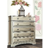 Pewter 5-Drawer Dresser - Catalina