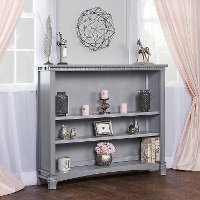 Storm Grey Hutch/Bookcase - Santa Fe