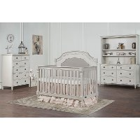 French Linen 5 in-1 Convertible Crib - Julienne