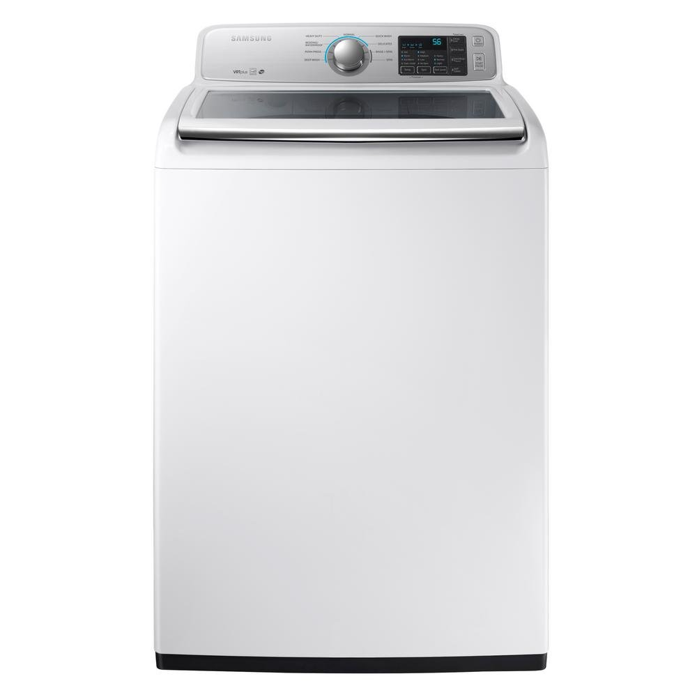 Rc Wiley Reno: Samsung Top Load Washer And Gas Dryer Pair - White