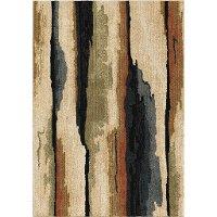 5 x 8 Medium Rock Cliff Multi-Colored Area Rug - Next-Generation