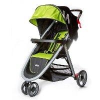 Lime Green Lightweight Stroller - Mia Moda Elite Collection