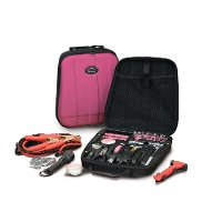 Pink 63 Piece Travel and Auto Toolkit