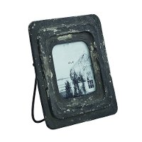 Magnolia Home Furniture Antique Black 4x4 Inch Picture Frame