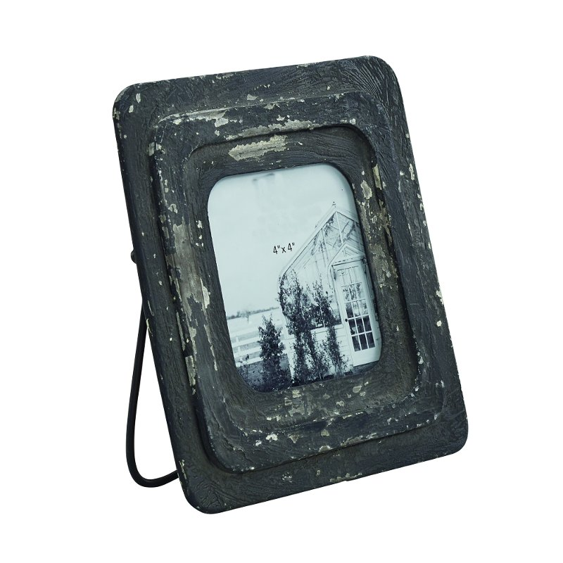 Magnolia Home Furniture Antique Black 4x4 Inch Picture Frame | RC ...