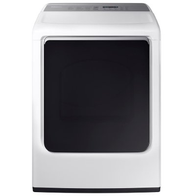 DVE54M8750W Samsung Electric Dryer with Steam - 7.4 cu. ft. White