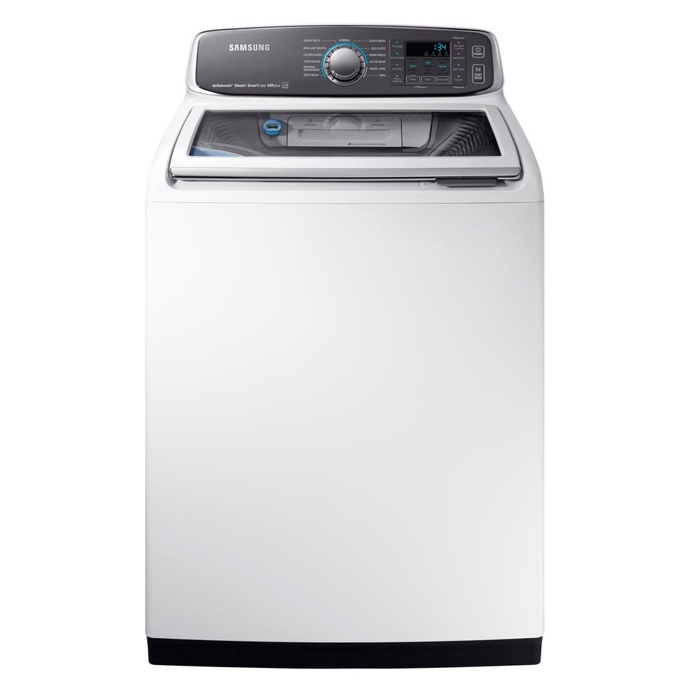 Rc Willey Dryer: Samsung Top Load Washer And Electric Dryer - White