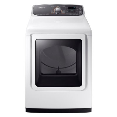 DVE52M7750W Samsung Extra-Large Capacity Electric Dryer - 7.4 cu. ft. White