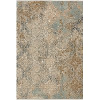 5 x 8 Medium Moy Willow Gray Area Rug - Touchstone
