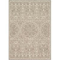8 x 10 Large Natural Beige Area Rug - Glendale