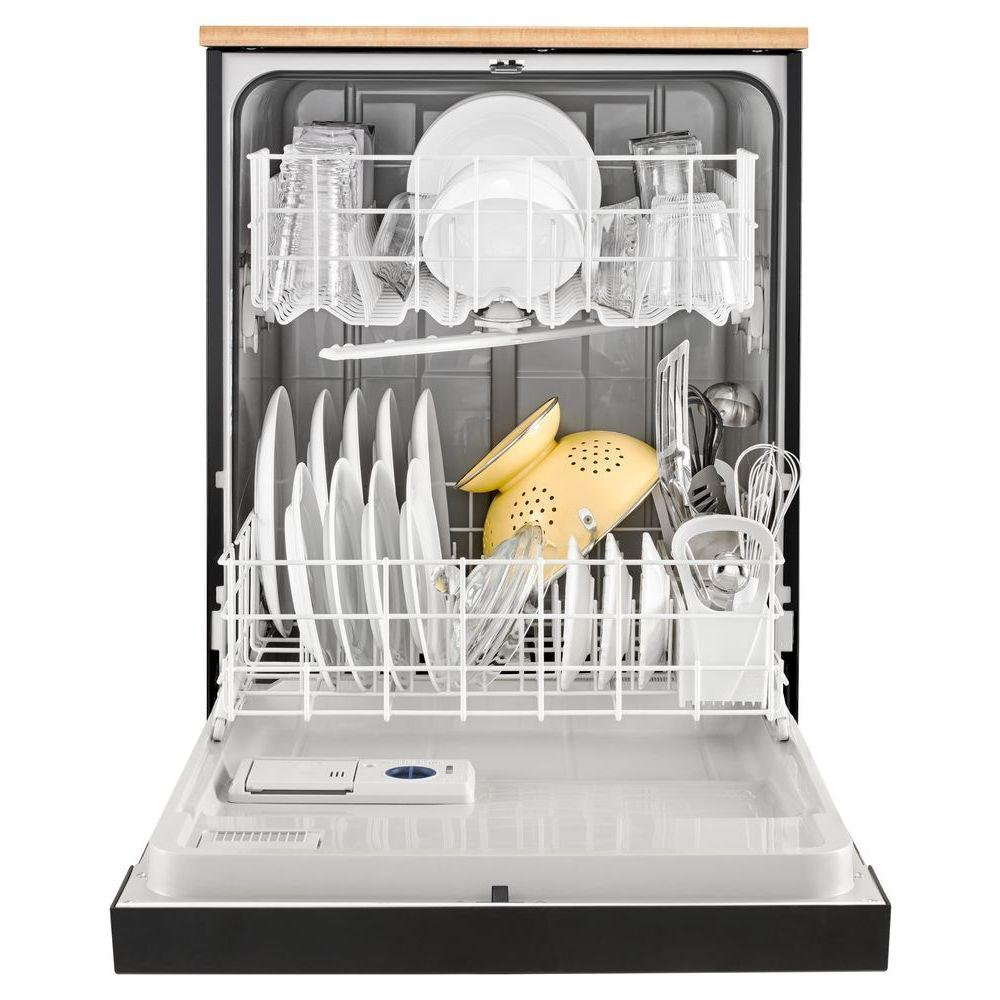 Whirlpool Portable Dishwasher - Black | RC Willey Furniture Store